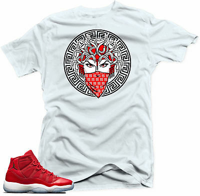 40ba1138fc1428 SHIRT TO MATCH Jordan 11 Win like 96.Medusa 11 White Tee -  14.89 ...
