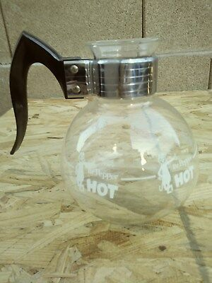 Very Rare Hot Dr Pepper Carafe From The 50`s Mint Condition