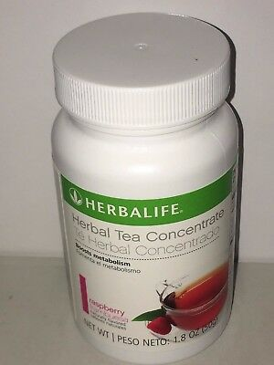 HERBALIFE Herbal Tea Concentrate 1.8 oz Lemon Orignal Peach Raspberry -Authentic