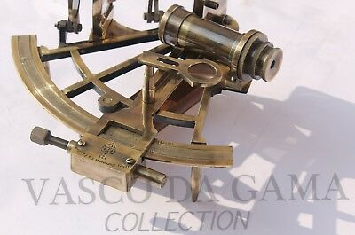 Nautical Antique Sextant 8 Inches Working Ship Equipment Vintage Marine Gift