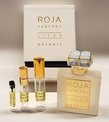 Lilac Extrait by Roja Parfums ~ Perfume samples ~ 100% Authentic Guaranteed
