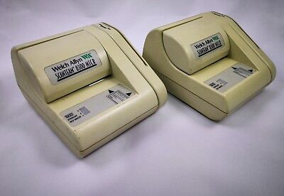2x 8300 Scanteam Micr Power Tested mag stripe Scanner No Cords model 8300-4113