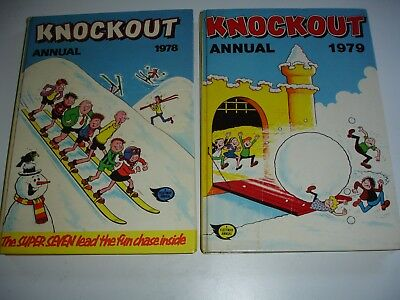 KNOCKOUT Annuals 1978 & 1979
