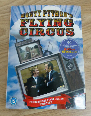 Monty Python's Flying Circus The Complete First Series One - 2 Disc Dvd Set
