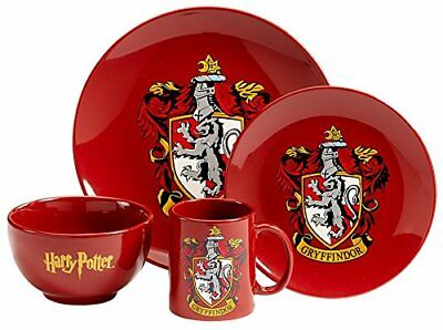 Harry Potter Gryffindor 4 Piece Dinner Set