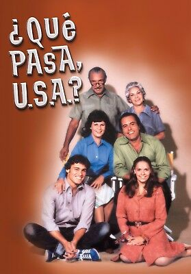 "Cuba,series,""que Pasa Usa?"" Unica Temporada, 1978, 5 Dvd, 39 Cap"