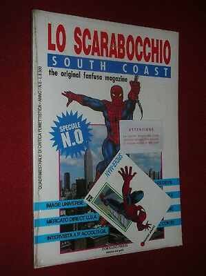 Lo Scarabocchio South Coast The Original Fanfusa Magazine Speciale N° 0  Blister