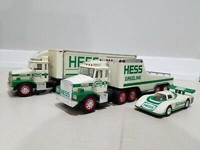 Hess Trucks 1987 and 1988 IN ORIGINAL BOXES