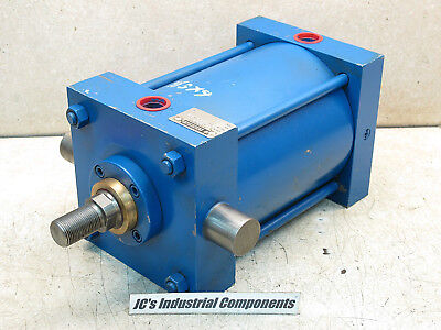 """Lynair,  6""""  Bore  X  5 1/2""""  Stroke,  Pneumatic Cylinder,  Front Trunnion"""