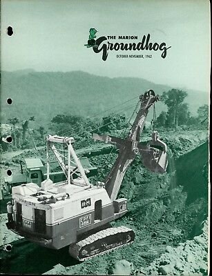 1962 Vol 35 no 5 Marion Power Shovel The Groundhog Magazine