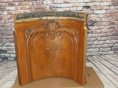 Antique Elevator Wooden Cab Section Architectural Salvage 1900's Lumber Baron