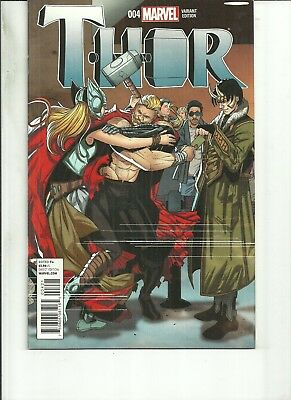 Mighty Thor #4 Variant Cover  Marvel Comics 1St Print Nm 2016