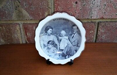 Vintage Royal Family Dish Plate