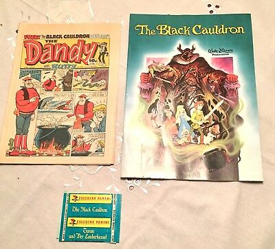 Dandy 1986 With Free Gifts/ Black cauldron