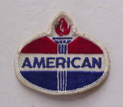 Vintage 1970's American Oil Co. Logo Patch