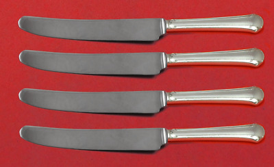 "Chippendale byTowle Sterling Silver Fruit Knife Set 4pc Custom Made 7"" HHWS"