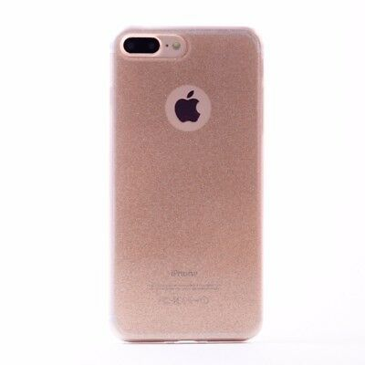 New Luxury Glitter Soft TPU Silicone Gel Shockproof Case Cover For iPhone 7 GOLD