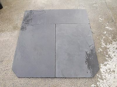 Slate hearth wood heater 20-25mm thick 1150deep x 1150wide  we can cut to size,