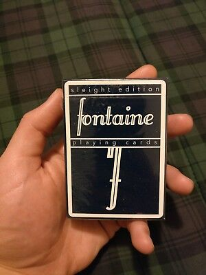 Fontaine Sleight Edition playing cards - SEALED, MINT condition