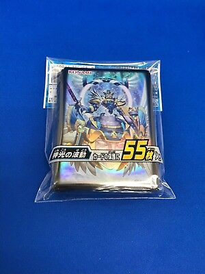 Yugioh Japanese Official Card Sleeve Angel Paladin Arch-Parshath 55 pcs F/S
