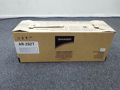Genuine Sharp AR 202T Black Toner Cartridge BRAND NEW