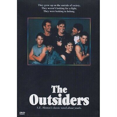 THE OUTSIDERS = PATRICK SWAYZE = DVD(Australian Shipping Free)