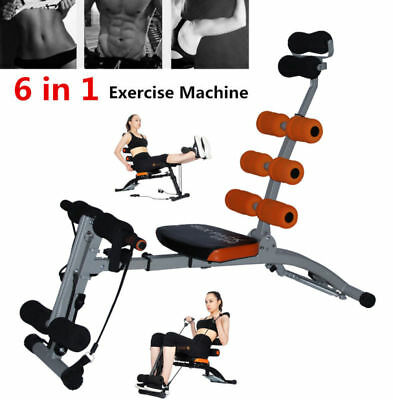 Abdominal Muscel Workout ABS Fitness Machine Tummy Exercise Crunch Trainer Gym