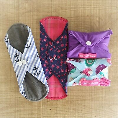 Cloth Pads Trial Pack - 4 pads, different styles
