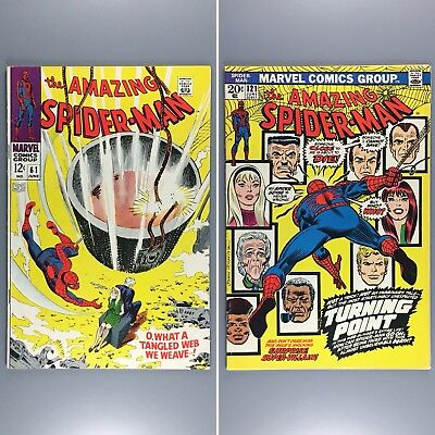 Amazing Spider-Man #61 121 First Cover Appearance & Death of GWEN STACY FN