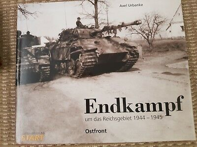 """Large Book """"Endkampf"""" German / English text Last Battles in the East 1945"""