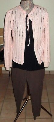 Lady's Leggings, Top & Cardigan -  Size 16 - Marks & Spencer