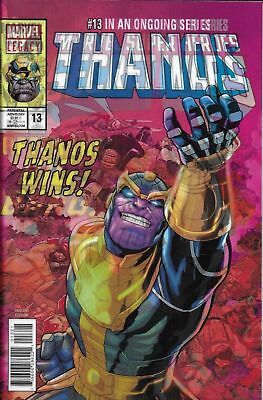 THANOS ISSUE 13 - 1st PRINT 3D LENTICULAR VARIANT COVER FIRST COSMIC GHOST RIDER