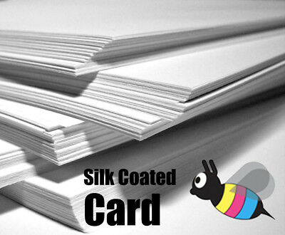 A6 A5 A4 A3 Premium Silk Coated Card - Ideal for Decoupage - All Crafts