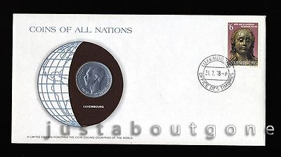 Lot146 Fdc Unc ─ Coins Of All Nations Uncirculated Stamp Cover