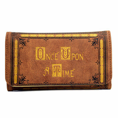 Once Upon A Time Tv Series Tan/cream Envelope Logo Wallet