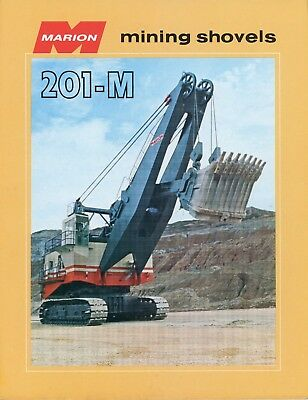 Marion Power Shovel  Model 201-M Mining Shovels Sales Brochure