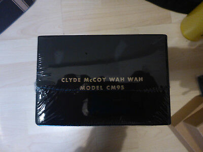 Dunlop Clyde McCoy Cry Baby - Wah Wah limited Edition Halo