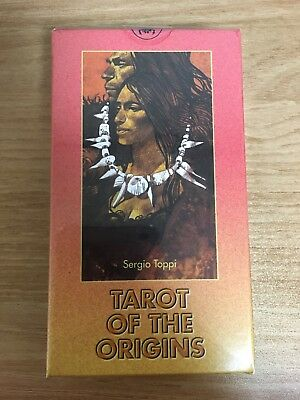 Tarot of the Origins by Sergio Toppi OOP RARE NEW