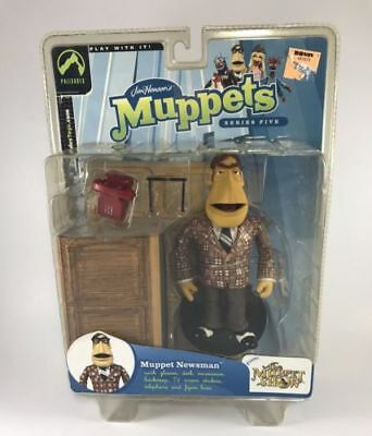 The Muppets Show Newsman Series 5 Palisades Toys 2003