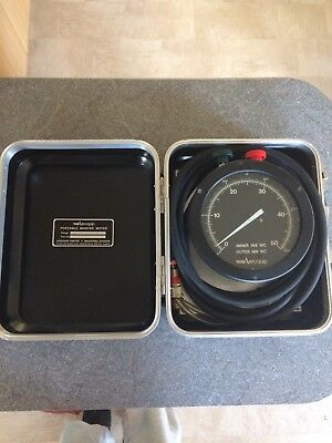 Aeroquip Portable Master Meter flow measurement system inner INS outer mm WC