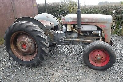 Ferguson Ted20 Grey Fergie Cheap Working Tractor See Video Can Deliver No Vat