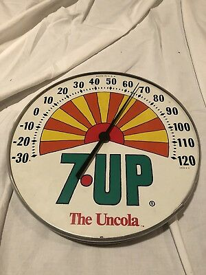 Vintage 7 Up Thermometer