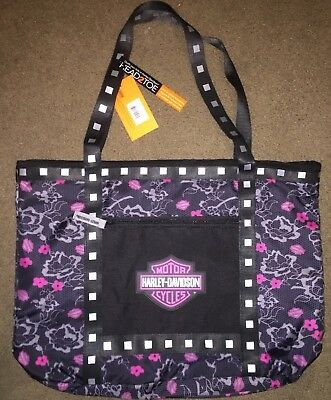 *New* Harley-Davidson Girl's Floral Pattern Tote Bag - Free Shipping!