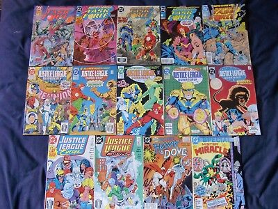 Justice League Quarterly/task Force/europeDc Comics LotMister Miracle
