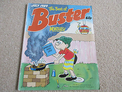 The best of BUSTER Monthly Comic - Date 07/1989 - UK Paper comic