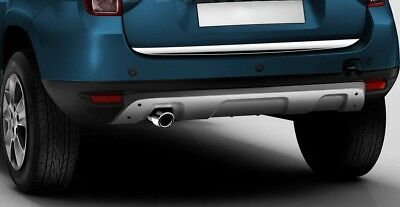 Dacia Duster Chrome Under Rear Tailgate Trim 2010-2018 Stainless Steel