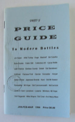 Fred's Price Guide to Modern Bottles Book Beam Brooks McCormick All Decanter