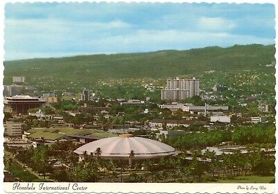 Tough to Find Honolulu International Center Sports Arena Postcard FREE SHIPPING!
