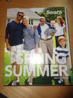 Sears Catalog Spring/ Summer 2012
