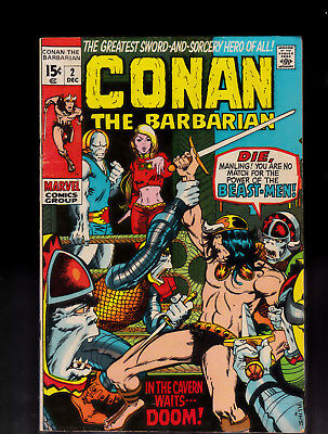 Conan the Barbarian 2 Barry Smith Solid Condition